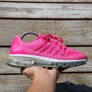 Women Size 8.5 Nike Air Max 2015 Pink Running Shoe